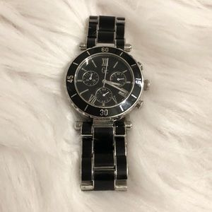 Guess Black and Silver Watch